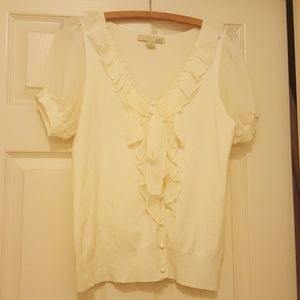 White blouse by xxi